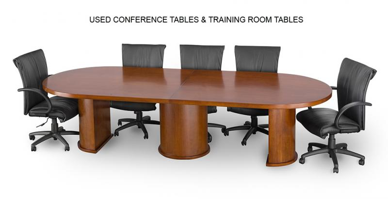 USED CONFERENCE ROOM TABLES, TRAINING ROOM TABLES, ETC.