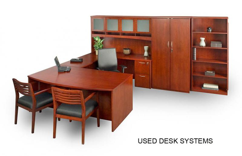 USED DESKS (L SHAPED DESKS, U SHAPED DESKS)